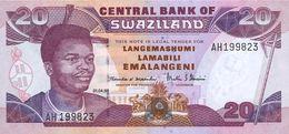 Swaziland 20 Emalangeni 1998 Pick 25 UNC - Swaziland