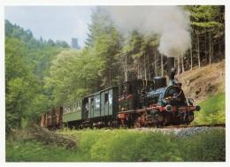 Kuckucksbähnle - Güterzug-Tenderlokomotive 89 7159 Der DGEG (Ex Königl. Preuß. Staatsb.) Am 19.8.1986 Bei Erfenstein - Eisenbahnen