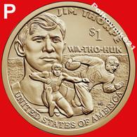 2018-P Cacagawea Native American Dollar - Émissions Fédérales