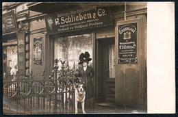 B2188 - Berlin - W. Schlieben & Co Weingroßhandlung Außenansicht - Nachlaß Carl Creve Kamminke - Lesen !!! - Germania