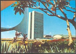 Brasil Turistico - 14 - BRASILIA DF.- Vista De Congresso. - Brasilia