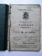 Reispas   Naar SUISSE Van1948  De Smet JEANNE - Titres De Transport