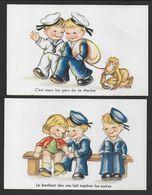 Série De  6 Cartes - Enfants Marins - Illustrateurs & Photographes