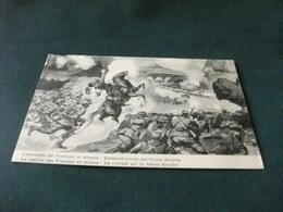 L'AVANZATA DEI FRANCESI IN ALSAZIA COMBATTIMENTO SUL FIUME BRUCHE SMANGIATA ANGOLO SUP. SIN. - Guerre 1914-18