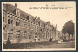 +++ CPA - POSTEL - Algemeen Zicht Op Voorgevel En Kerk ...Nels   // - Mol