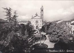 CARTOLINA - POSTCARD - REGGIO EMILIA - NOVELLARA - GIARDINI - Reggio Nell'Emilia