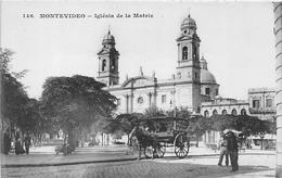 ¤¤   -   URUGUAY    -   MONTEVIDEO    -  Iglésia De La Matriz  -  ¤¤ - Uruguay
