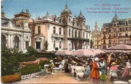 MONTE CARLO - Le Casino Et Terrasse - Café De Paris (103527) - Non Classés
