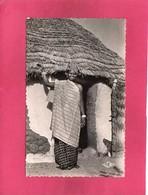 Afrique, Tchad, Jeune Femme Foulbé, Animée, (R. Carmet) - Chad