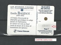 05  / 93  EMILE BAUDOT   50 U  SC5  F366  UTILISEE - France