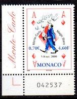 Sello  Nº 2264  Magia  Monaco - Juegos