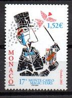 Sello  Nº 2367  Magia  Monaco - Juegos