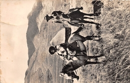 ¤¤   -   LESOTHO   -  BASUTOLAND   -  Chevauché Dans La Montagne  -  ¤¤ - Lesotho