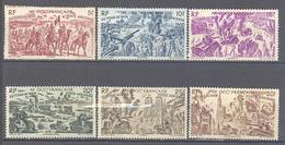 A.O.F.: Yvert N° A 5/10(*); 6 Valeurs - Used Stamps
