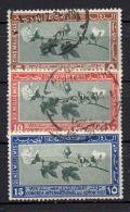EGYPTE ( POSTE ) : Y&T  N° 115/117  TIMBRES  BIEN  OBLITERES , A  VOIR . - Egypt