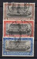 EGYPTE ( POSTE ) : Y&T  N° 108/110  TIMBRES  BIEN  OBLITERES , A  VOIR . - Egypt