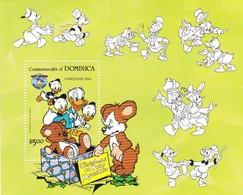 DOMINICA  DISNEY CHRISTMAS 1984 - Dominica (1978-...)