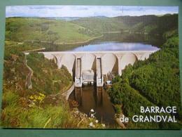 BARRAGE De GRANDVAL - Barrage Hydroélectrique Sur La Truyère En Aveyron - Autres