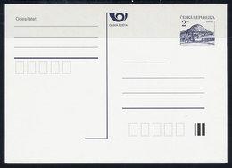 "CZECH REPUBLIC 1995 "" Kc Rip Mountain 7. Issue Unused.  Michel P2 F - Postal Stationery"