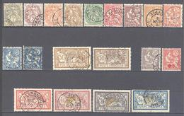 Alexandrie: Yvert N° 19/34° - Alexandrie (1899-1931)