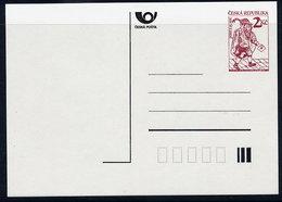 CZECH REPUBLIC 1994 Historic Postman 2 Kc   Unused.  Michel P3 I - Postal Stationery
