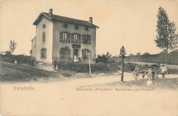 "XF.249.  Vernéville - Maisonette ""Frontière"". Restaurant ""zer Grenze"" - France"