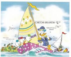 TURKS E CAICOS  DISNEY EASTER 1984 - Turks E Caicos