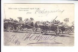 Middle Central Asia Russian Empire  RAILROAD ROAD OF ORENBURG - TASHKENT TPO 70 TASHKENT - SAMARA - Uzbekistan