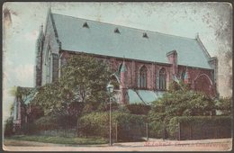 St Luke's Church, Chadderton, Lancashire, 1910s - F & G Pollard Postcard - England