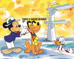 TURKS E CAICOS ISLANDS DISNEY LOS ANGELS 1984 - Turks E Caicos