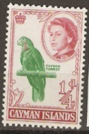 Cayman Islands  1962  SG  165  1/4d  Unmounted Mint - Kaaiman Eilanden