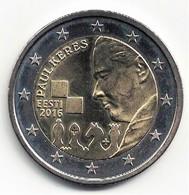 Estonie 2016 - 2 Euro/euros. 100e Anniversaire Paul Keres. Neuve SPL - Estonia