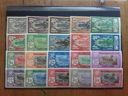 EX COLONIE FRANCESI - Stabilimenti Francesi Dell'India 1929 - Serie Completa Nuova * Nn. 85/104 + Spese Postali - Neufs