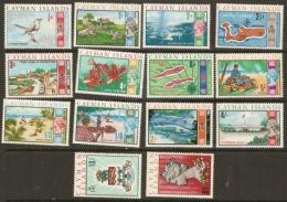 Cayman Islands  1969  SG  222-36 Excluding 8d  Unmounted Mint - Kaaiman Eilanden