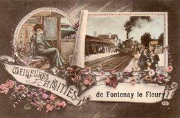 FONTENAY Le FLEURY Amities - Autres Communes