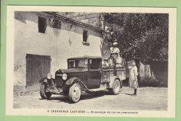 SAINT GEORGES DES COTEAUX : Laiterie De Nieul, Ramassage Du Lait En Camionnette. TBE. Industrie Laitière. 2 Scans. - Sonstige Gemeinden