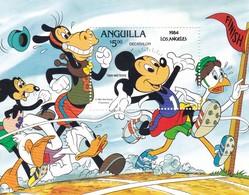 ANGUILLA DISNEY LOS ANGELES 1984 - Anguilla (1968-...)
