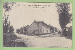 MONTLIEU : Le Carrefour, Les Allées. 2 Scans. Edition J S D - Andere Gemeenten