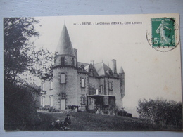 BRIVE / LE CHATEAU D'ENVAL / BELLE CARTE ANIMEE / 1916 - Brive La Gaillarde