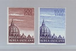 VATICAN -1953 -  YT PA 22/23 - Dôme De Saint - Pierre De Rome - Neuf ** - Vatican