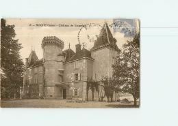 ROCHE -  Château De VAUGELAS - 2 Scans - Unclassified