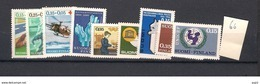 1966 MNH Finland, Year Complete According To Michel, Postfris - Finland