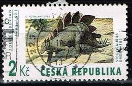 Tschechien 1994, Michel# 41 O Prehistorical Animals - Tschechische Republik