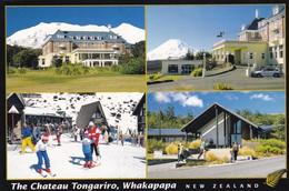 Postcard The Chateau Tongariro Whakapapa New Zealand North Island Ski Resort My Ref  B22406 - New Zealand
