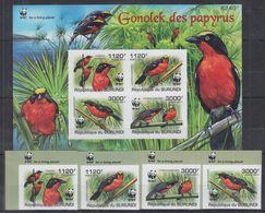 M05. Burundi - MNH - Animals - Birds - WWF - Imperf - Birds