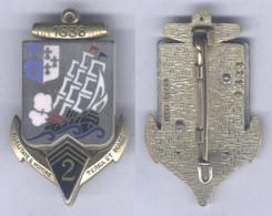 Insigne De La 2e Régiment D'Infanterie De Marine - Armée De Terre