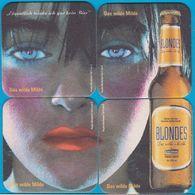 Karlsberg Brauerei Homburg Saar ( Bd K1 ) Blondes Puzzle 4-teilig - Sous-bocks