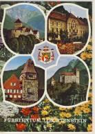 LIECHTENSTEIN PRINCIPALITY  SCHLOSS VADUZ ROTES HAUS SCHLOSS GUTENBERG - Liechtenstein