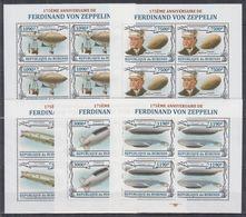 N05. Burundi - MNH - Transport - Zeppelins - Zeppelins