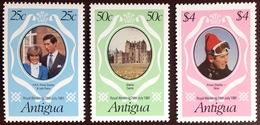 Antigua 1981 Royal Wedding MNH - Antigua And Barbuda (1981-...)